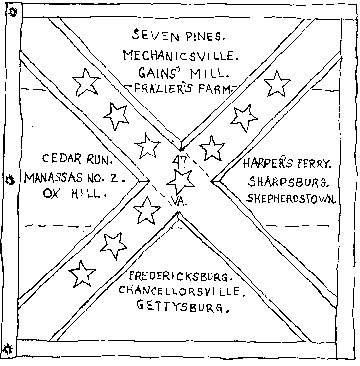 2nd Flag of the 47th Virginia Infantry